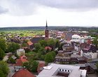 View over Itzehoe