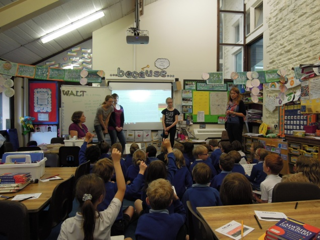 Twinning Visit to Powells School, Cirencester